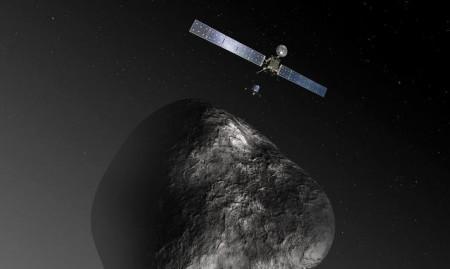 Sonda-Rosetta-vicina-alla-cometa