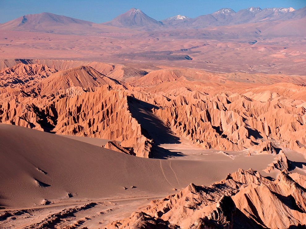 Valley of the Moon Atacama Desert (Cile)